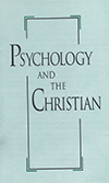Psychology and the Christian