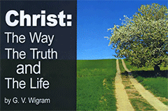 Christ The Way, The Truth, and The Life by George Vicesimus Wigram