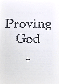 Proving God by Thomas Leslie Mather