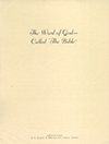 The Word of God: The Bible by Henry Edward Hayhoe