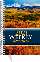 2021 Inspirational Weekly Planner: Pocket Edition