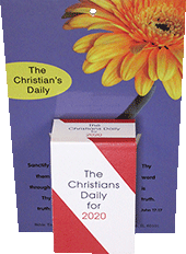 2020 Christian's Daily Calendar: Complete