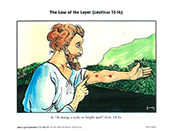 The Law of the Leper Illustrations Set by George Christopher Willis