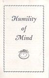 Humility of Mind