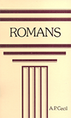 A Summary of the Epistle to the Romans by Lord Adalbert Percival Cecil