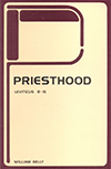 Priesthood, Its Privileges and Its Duties: Leviticus 8-15 by William Kelly