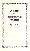 A Help of a Hindrance: Which? by Charles Henry Mackintosh