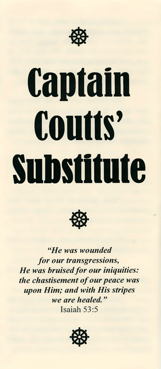 Captain Coutts' Substitute by George Cutting