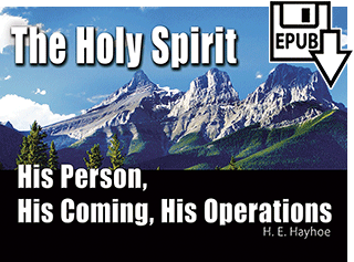 The Holy Spirit: His Person, His Coming, His Operations by Henry Edward Hayhoe