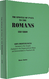 The Epistle of Paul to the Romans: God's Righteousness Declared in the Gospel, Displayed in His Dispensational Ways, and Demonstrated in Practical Life by Stanley Bruce Anstey