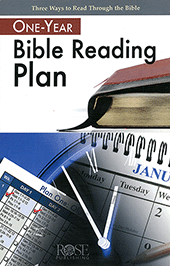One Year Bible Reading Plan by Rose Publishing