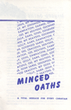 Minced Oaths by George H. Seville