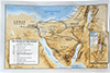 The Exodus and Wilderness Journeys Map by Broadman & Holman