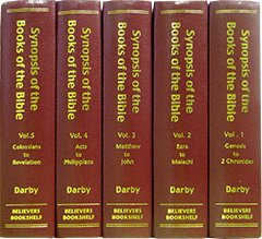 Synopsis of the Books of the Bible: Believers Bookshelf/Loizeaux Edition by John Nelson Darby