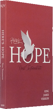 B&H Here's Hope New Testament: 4633-99 by King James Version