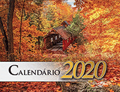 2020 Portuguese The Gospel of Peace Scenic Appointment Calendar: With Monthly Gospel Verses