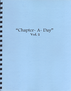 Chapter-A-Day by Norman W. Berry